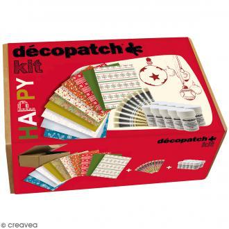 Kit créatif Décopatch - Happy (Noël)