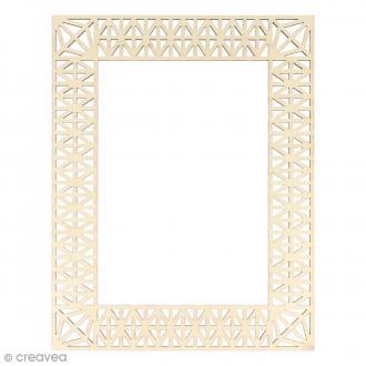 Cadre en bois Géométrique - 23 x 18 cm