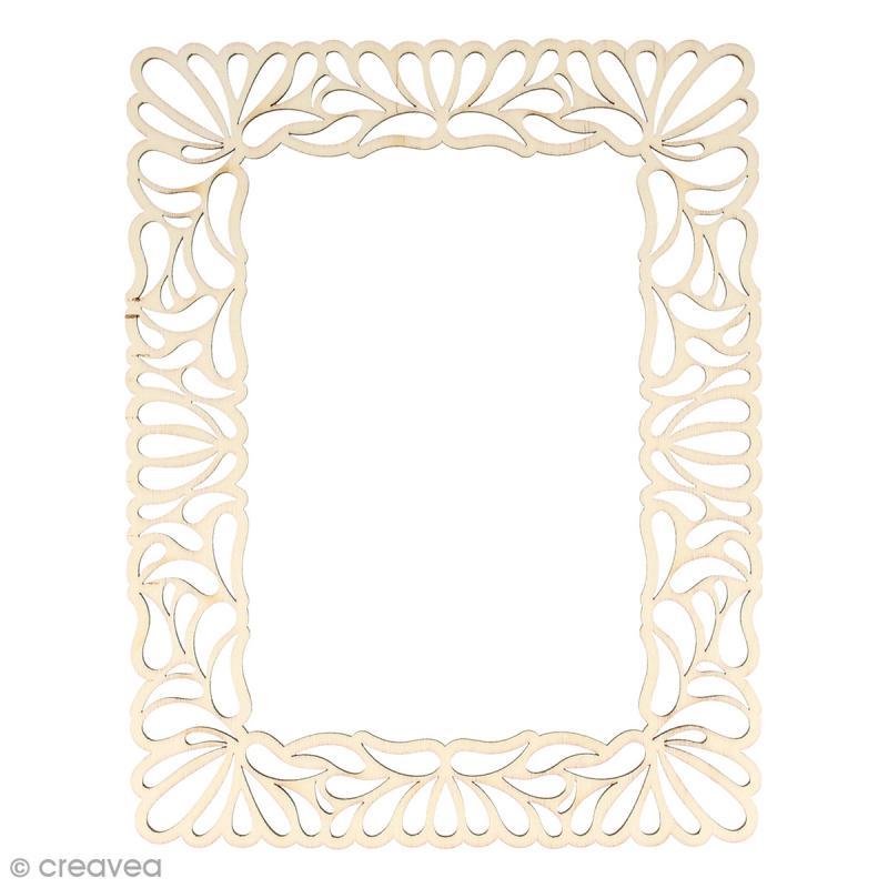 Cadre en bois Arabesques - 23 x 18 cm - Photo n°1