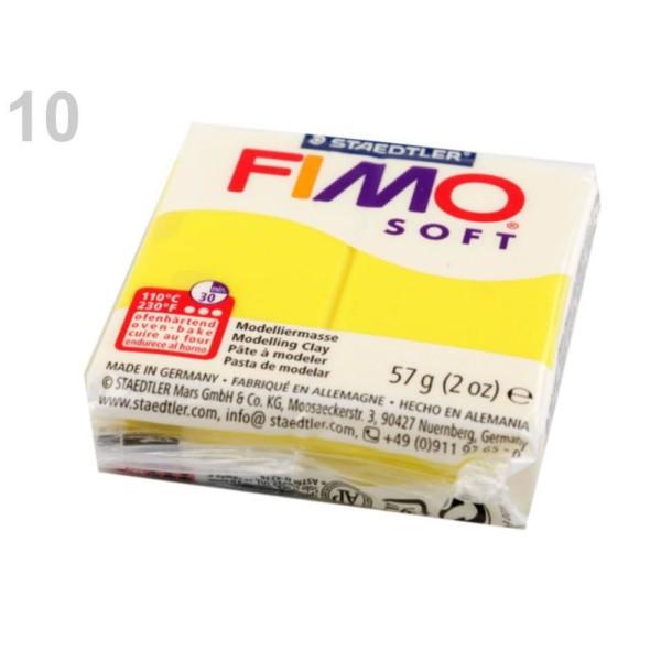 1pc Jaune Jonquille FIMO Polymère pâte à modeler 57 octies, Doux, -, de l'Artisanat et Loisirs - Photo n°1