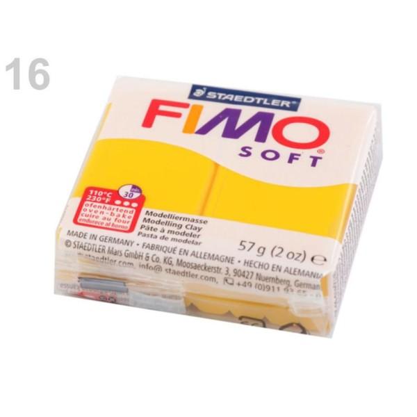 1pc Oranžová FIMO Polymère pâte à modeler 57 octies, Doux, -, de l'Artisanat et Loisirs - Photo n°1