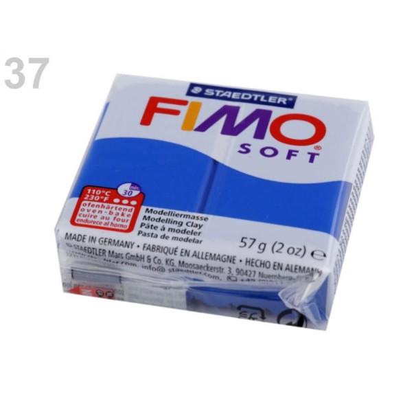 1pc Néon Bleu FIMO Polymère pâte à modeler 57 octies, Doux, -, de l'Artisanat et Loisirs - Photo n°1