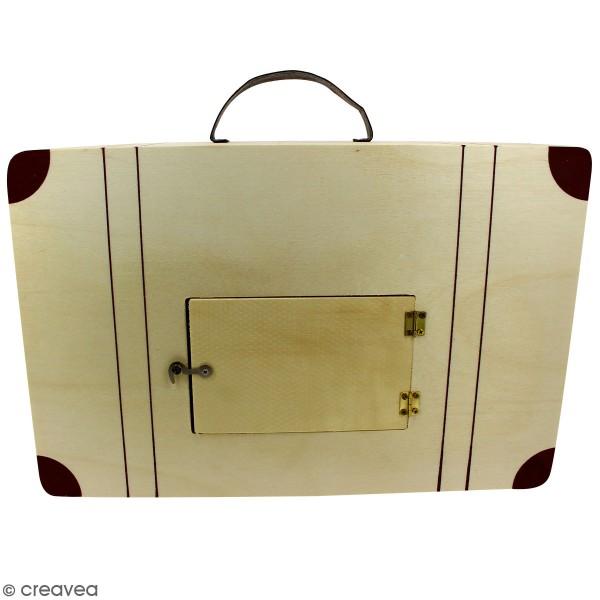 Urne Valise en bois - 35 cm - Photo n°2