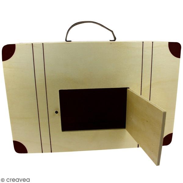 valise en bois Urne Valise en bois - 35 cm - Photo n°3