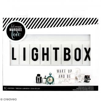Lightbox Blanche - 33 x 25 cm