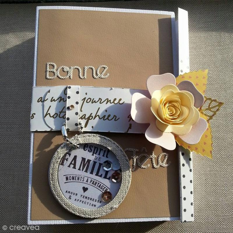 Papier Skivertex simili cuir - Feuille adhésive 30 x 30 cm - Photo n°2