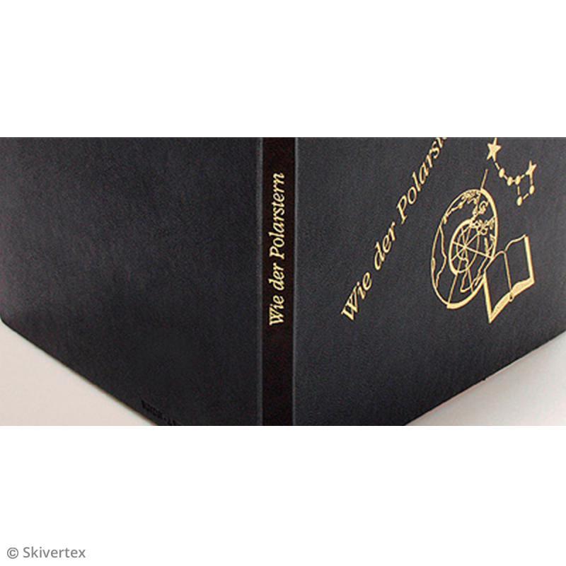 Papier Skivertex simili cuir - Feuille adhésive 30 x 30 cm - Photo n°5
