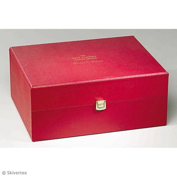 Papier Skivertex simili cuir - Feuille adhésive 30 x 30 cm - Photo n°6