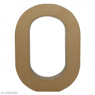 Lettre fantaisie O - 22 x 30 cm