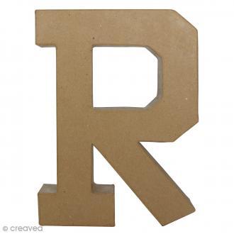Lettre fantaisie R - 21,5 x 30 cm