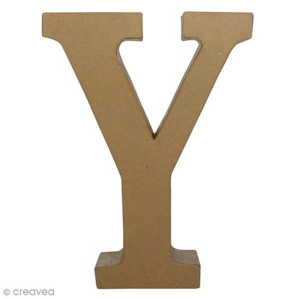 Lettre fantaisie Y - 22 x 30 cm - Photo n°1