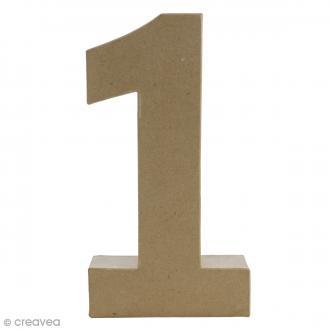Lettre en carton fantaisie 30 cm acheter lettre - Chiffre en carton 3d ...