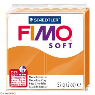 Pâte Fimo soft Orange clair 41 - 57 gr