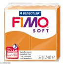 Fimo soft Orange clair 41 - 57 gr - Photo n°1