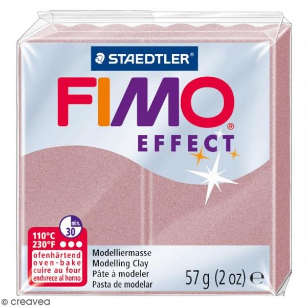 Pâte Fimo effect Rose perle 207 - 57 gr - Photo n°1