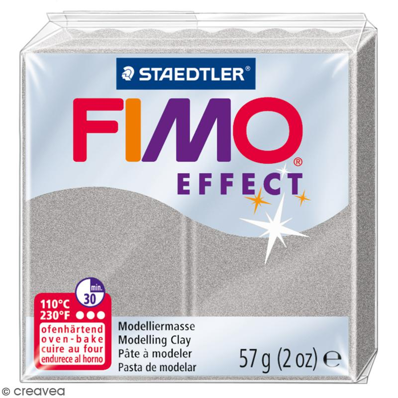 Fimo effect Gris clair perle 817 - 57 gr - Photo n°1