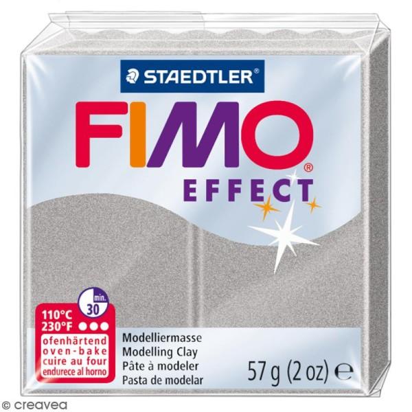 Pâte Fimo effect Gris clair perle 817 - 57 gr - Photo n°1