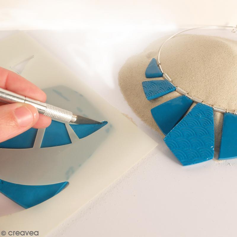 Gabarits pour pâte polymère - Reine d'Egypte - 9 formes - Photo n°2