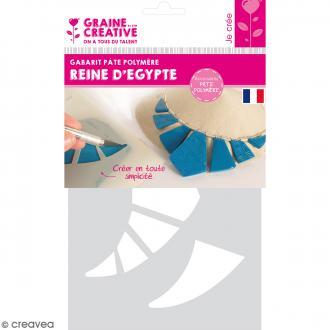 Gabarits pour pâte polymère - Reine d'Egypte - 9 formes