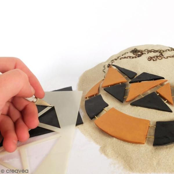 Gabarits pour pâte polymère - Mosaïque - 13 formes - Photo n°2