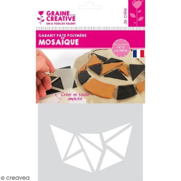 Gabarits pour pâte polymère - Mosaïque - 13 formes - Photo n°1