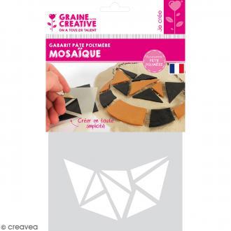 Gabarits pour pâte polymère - Mosaïque - 13 formes