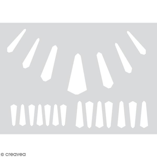 Gabarits pour pâte polymère - Ethniques - 21 formes - Photo n°3