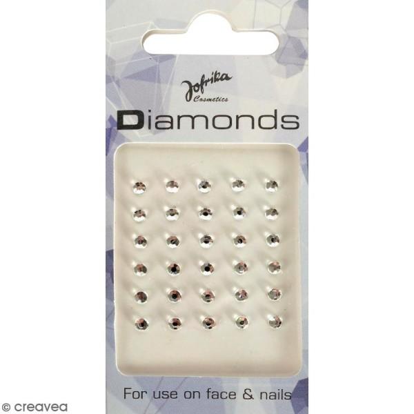 Bijoux de peau Diamants cristal - 30 pcs - Photo n°1