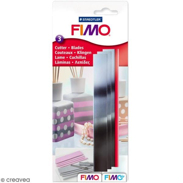Set cutter Fimo - 3 lames de 15 cm - Photo n°1