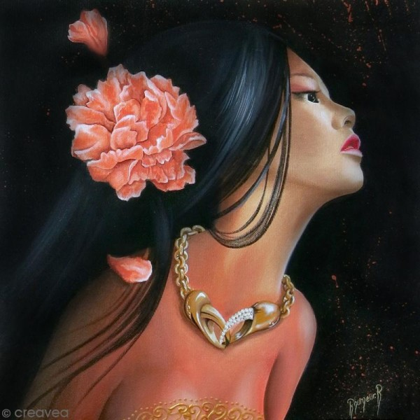 Image 3D - Femme Cancer - 30 x 30 cm - Photo n°1