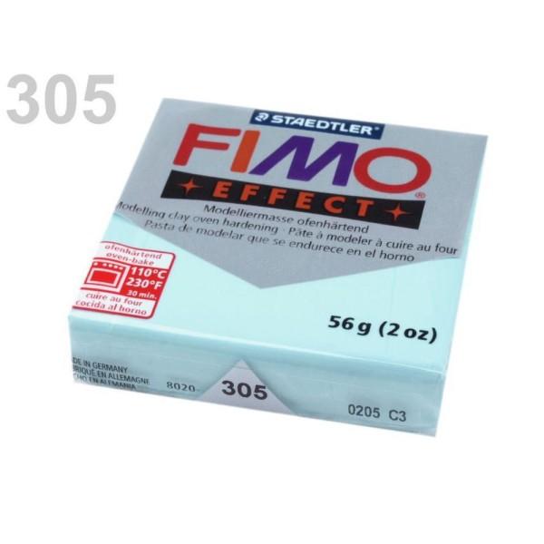 1pc myosotis Bleu Pastel FIMO Polymère pâte à modeler 56-57 octies Effet, d'Artisanat et de Loisirs - Photo n°1