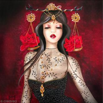 Image 3D - Femme Balance - 30 x 30 cm