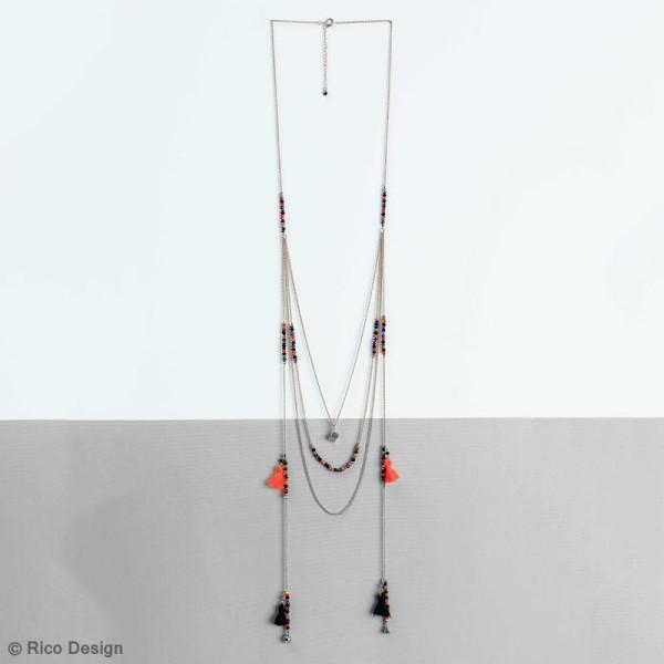 Assortiment de breloques pendentifs - Mix 3 - Argent - 3 pcs - Photo n°2