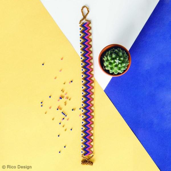 Perles de rocaille - Mix Neon - 2 mm - 17 g - Photo n°2