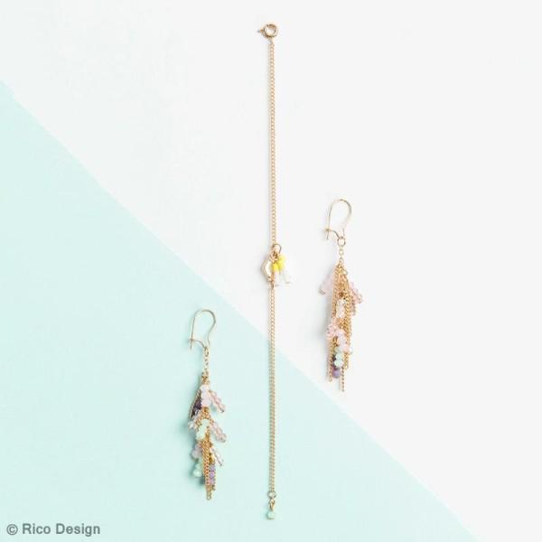 Perles à facettes - Neon - 3 mm - 60 pcs - Photo n°6