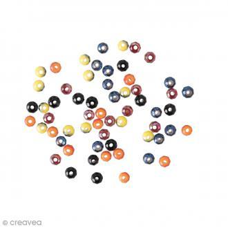 Perles à facettes - Neon - 3 mm - 60 pcs