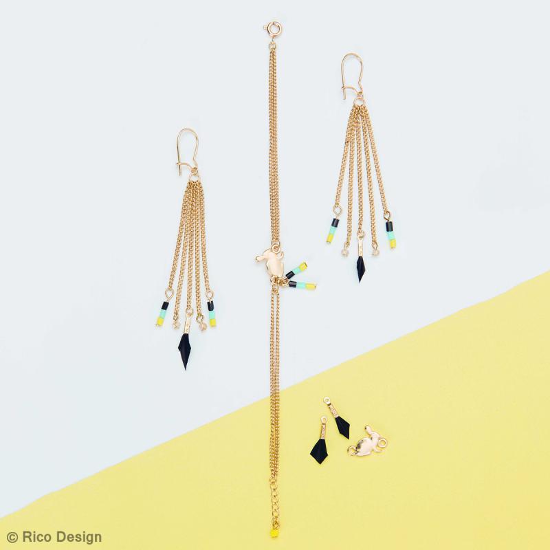 Perles à facettes - Sorbet - 3 mm - 60 pcs - Photo n°3