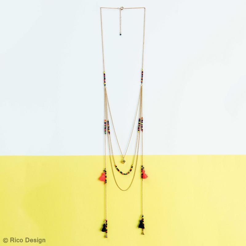 Perles à facettes - Sorbet - 3 mm - 60 pcs - Photo n°5