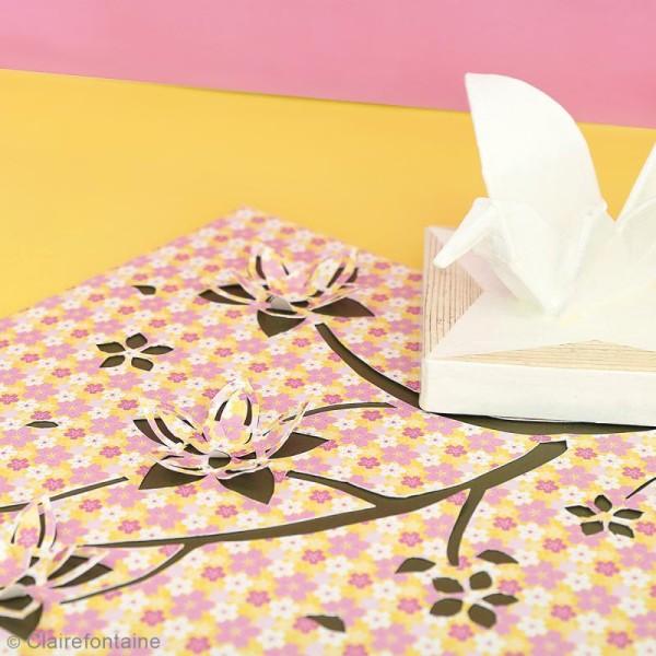 Carnet de motifs Kirigami - Parfum d'Asie - 20 x 20 cm - 52 pages - Photo n°2