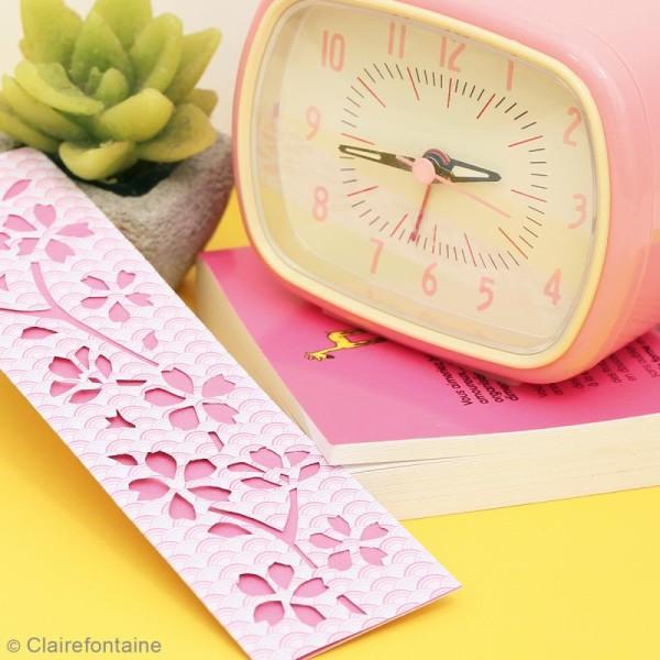Carnet de motifs Kirigami - Parfum d'Asie - 20 x 20 cm - 52 pages - Photo n°3