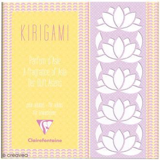 Carnet de motifs Kirigami - Parfum d'Asie - 20 x 20 cm - 52 pages