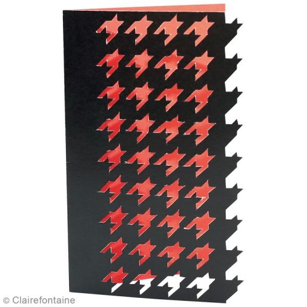 Carnet de motifs Kirigami - Géométrique - 20 x 20 cm - 52 pages - Photo n°6