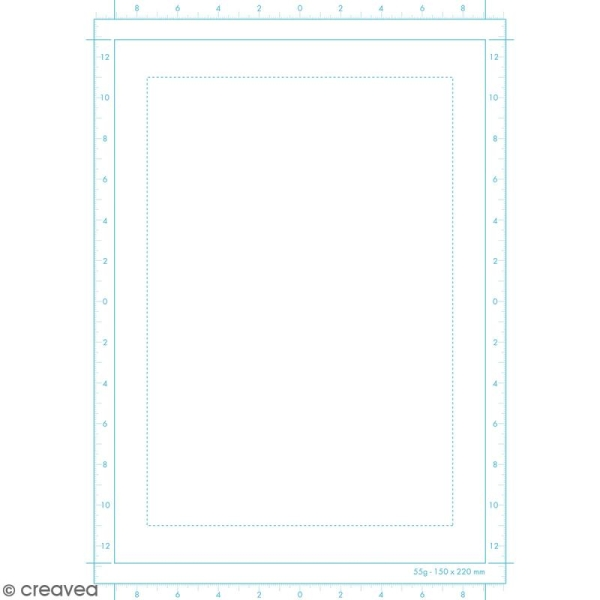 Bloc papier Manga Paper Storyboard - Grille simple A4 - 100 feuilles - Photo n°3