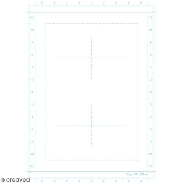 Bloc papier Manga Paper Storyboard - Grille divisée A4 - 100 feuilles - Photo n°3