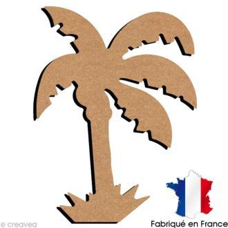 Palmier en bois 15 cm
