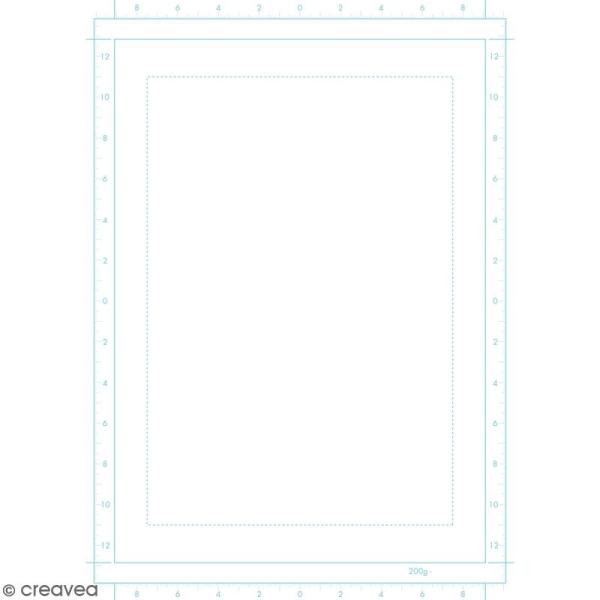 Bloc de papier Manga Paper Planches - Grille simple B4 - 40 feuilles - Photo n°3