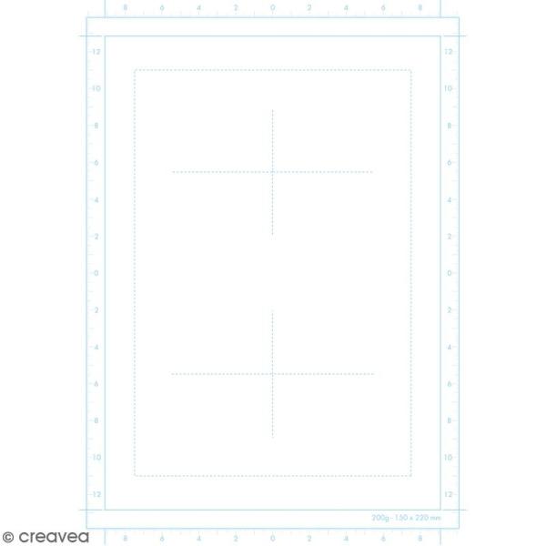 Bloc de papier Manga Paper Planches - Grille divisée A4 - 40 feuilles - Photo n°3