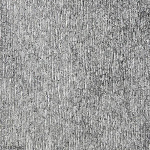 Papier crépon Argent - 250 x 50 cm - Photo n°2