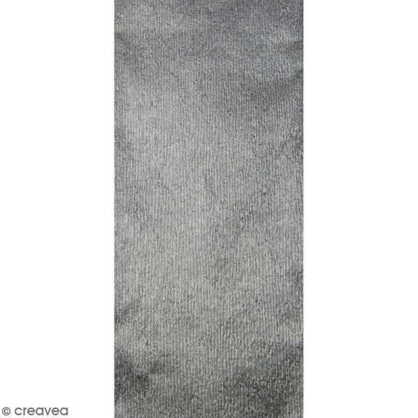 Papier crépon Argent - 250 x 50 cm - Photo n°1