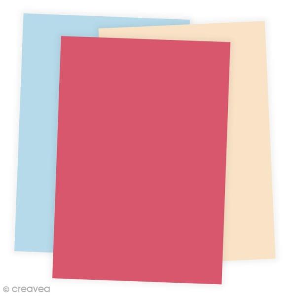 Papier Grain de Pollen A4 - 19 coloris - 5 feuilles - Photo n°1